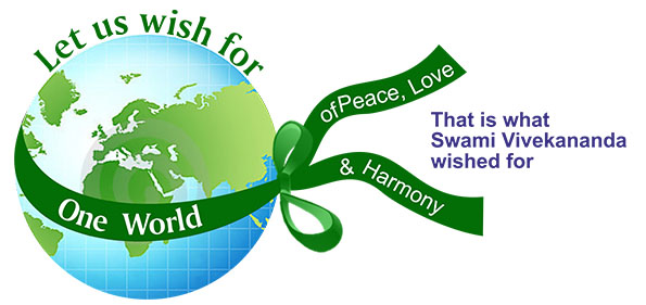 Let us wish for One World of Peace, Love and Harmony